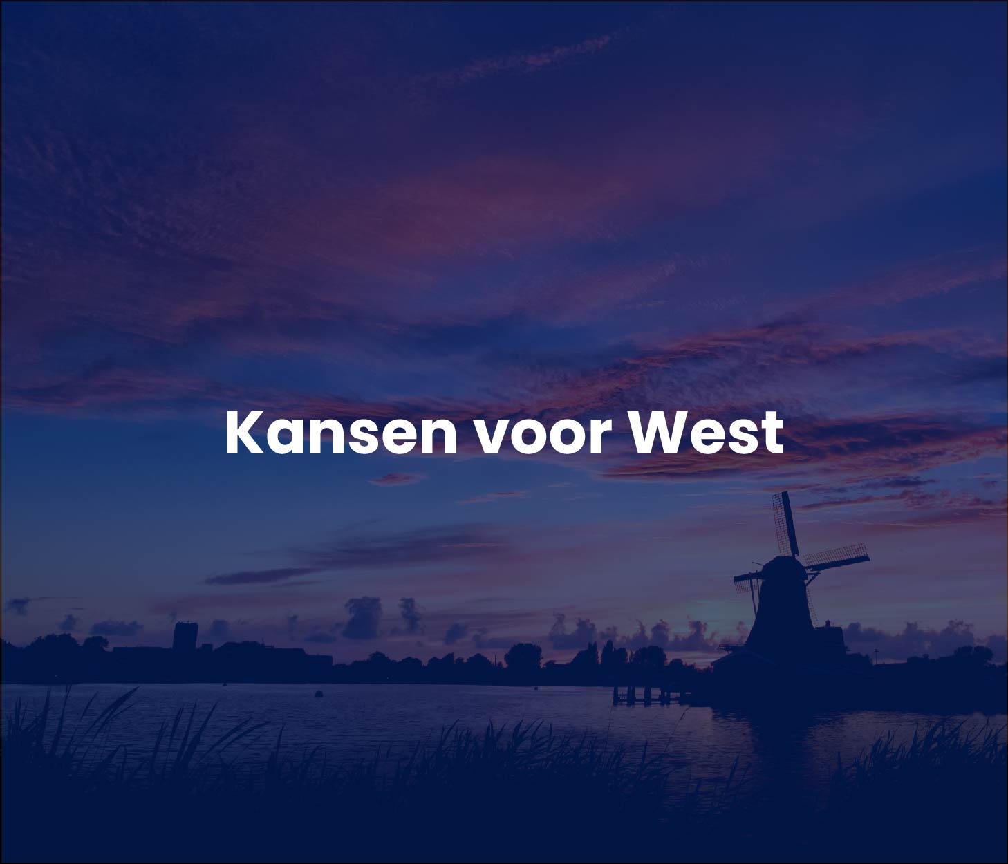 Kansen voor West