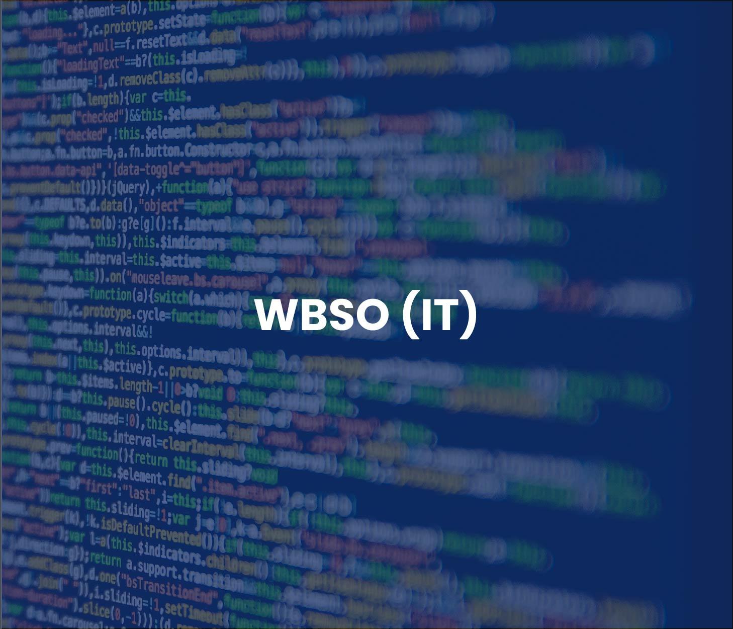 WBSO IT